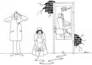 Když chce doktor pomoct pacientovi