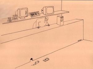 Když chytáš myš do pasti