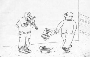 Naučím se hrát na housle