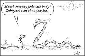 Když se had kousne do jazyka