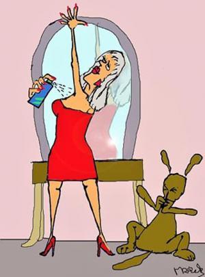Když to žena přežene s parfémem