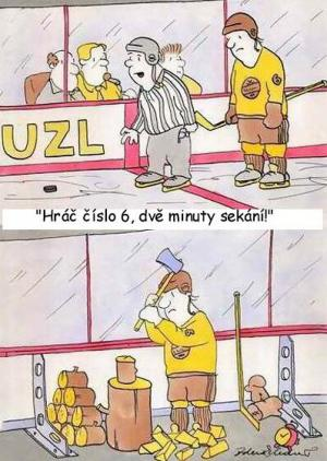 Hokejový trest