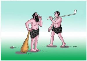 Golf a baseball v pravěku