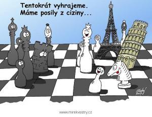 Šachy a posila z Číny