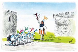 Jak fungují závody v hradu