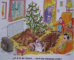 Hledání dárků na Vánoce