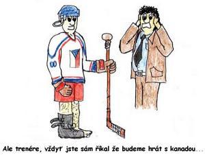 Hokej Češi vs. Kanada