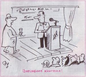 Přednes na dopingové kontrole