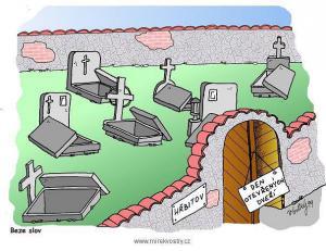 Jak by vypadal den otevřených dveří na hřbitově