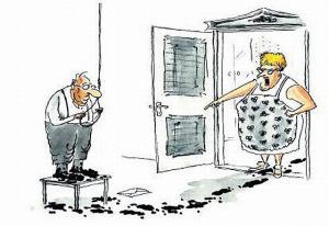 Když ti manžel doma udělá svinčík