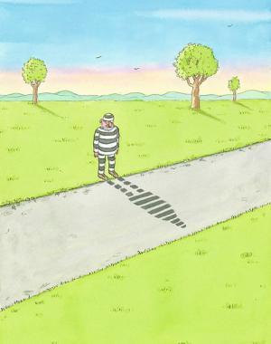 Jak vypadá vězeň ve stínu