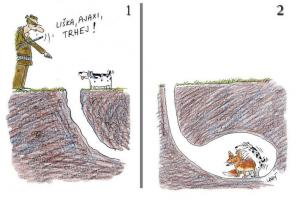 Když pošleš svého psa na lišku