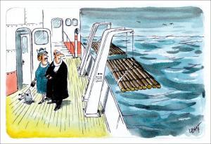 Připravená loď na nehody