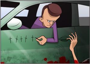 Jak si zapamatovat, kolik lidí si srazil autem