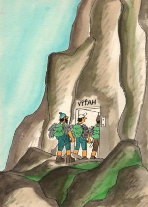 Horolezci, kteří si to chtějí zkrátit
