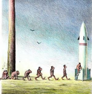 Z pravěku až do rakety