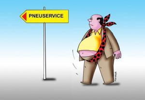 Pneuservice pro obézní lidi