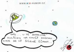 Mimozemšťani ve vesmíru