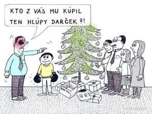 Velmi špatný nápad na dárek