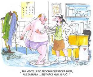Dieta, která mu pomohla