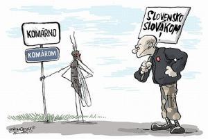 Značka komárů vs. Slováků