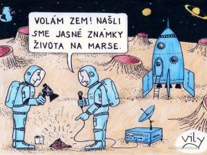 Známky života na Marse