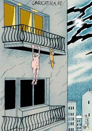 Dvojitá sebevražda z balkonu