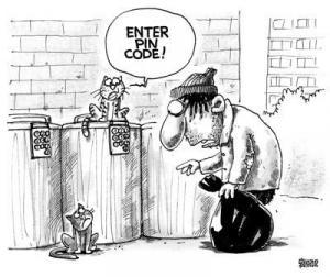 Zadejte svůj pin kód