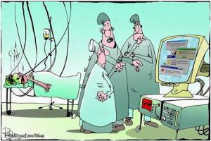 Pacient, ve velmi vážném stavu