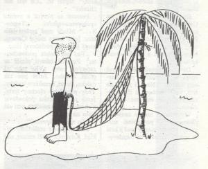 Když ti chybí strom, abys měl pověšenou síť