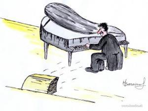 Hra na klavír je něco úžasného