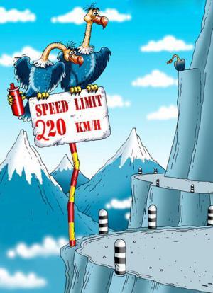 Rychlostní limit 220 km/h