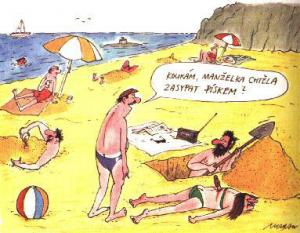 Jak se zbavit mrtvoly na pláži