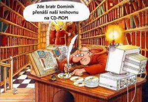 Knihovna přepsaná na CD