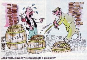 Ochutnávka vína aneb vody