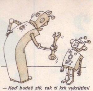 Když si vyhrožují dva roboti