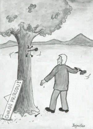 Jak vypadá ochránce přírody