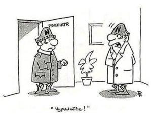 Pacient na psychiatrii