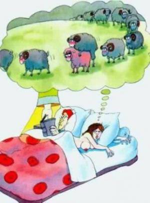 Jak ženy počítají ovečky před spaním