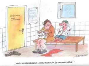 Když předběhneš pacienta s vážným problémem