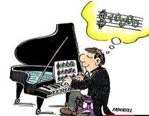 Jak vidí noty klavírista