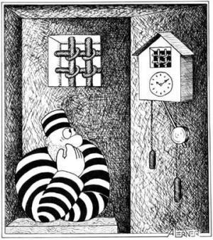 Vězeň má přeci času dost