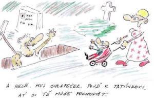 Táta chce pochovat svého syna