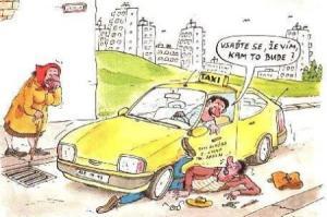 Taxikář, který umí předpovídat cestu