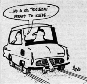 Neustálé potíže s autem