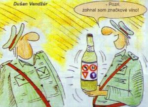 Značkové víno jak dělané