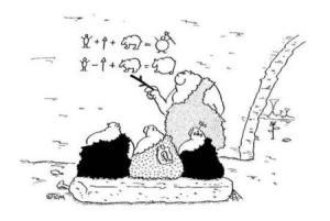 Jak vypadalo vyučování v době kamenné?