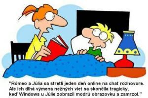 Jak by vypadal příběh Romeo a Julie online?