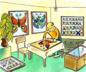 Jak si člověk pěstuje motýli