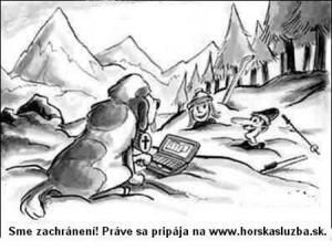Když ti přijede na pomoc horská služba